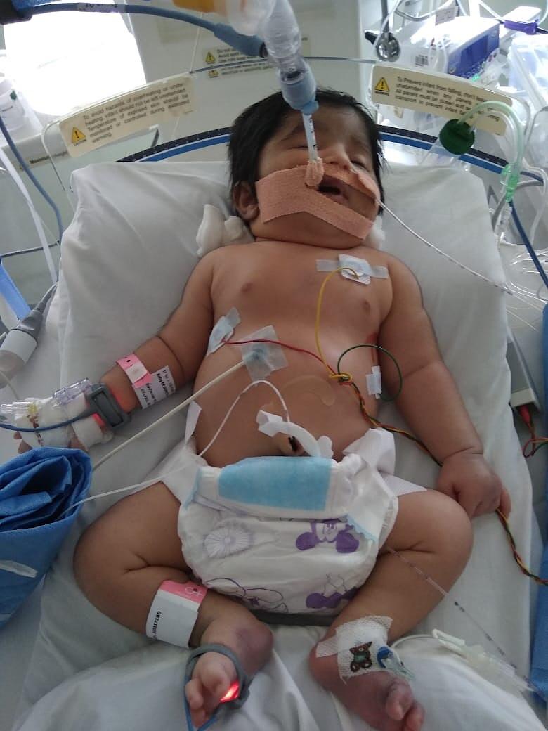 Baby of Sumitha S. Cochin